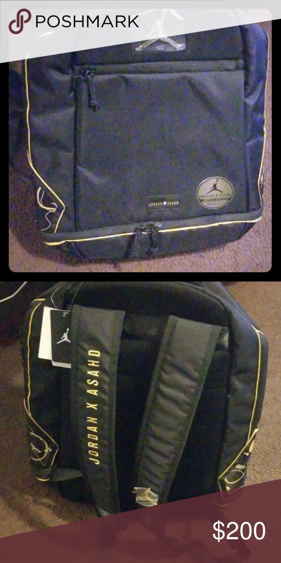 9dacd3b211f Jordan and Ashad backpack Black and gold JORDAN X ASAHD DJ KALID SON'S  KALABO Jordan Other