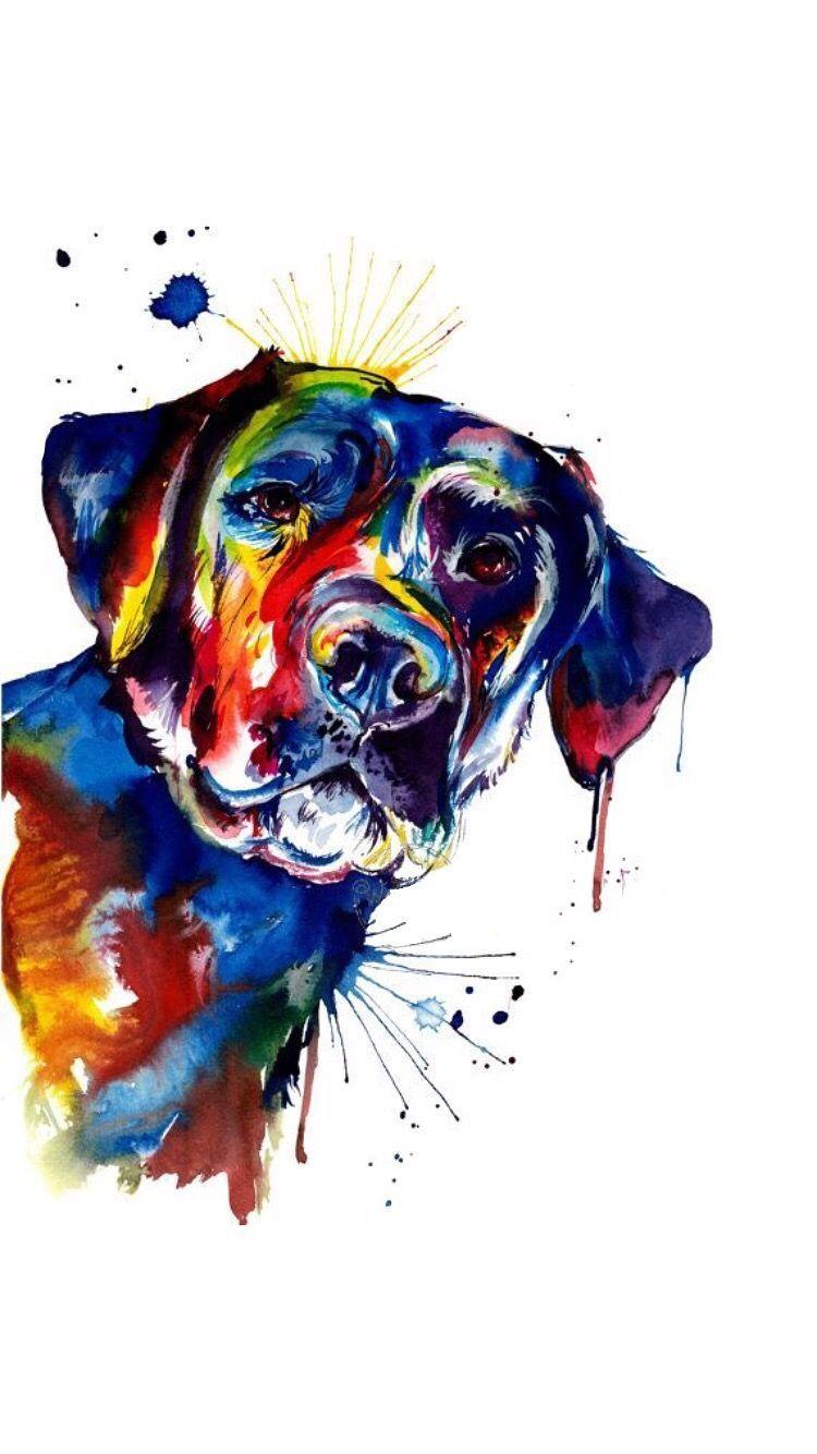 "/""GERMAN SHORT HAIRED POINTER/"" Watercolor Dog Art Print by Artist DJR"