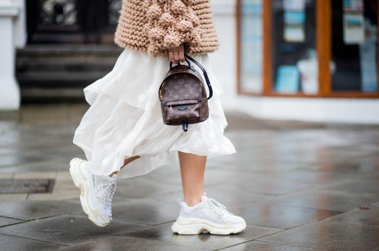 Dad Sneaker sind die neuen Schuhe im Trend! Stylingtipps