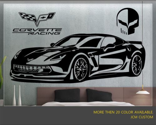 Chevrolet Corvette Z06 Zr1 Racing Sport Car Wall Decal 60