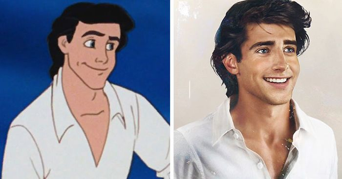 How Disney Princes Would Look In Real Life, by Jirka Väätäinen, a Finnish artist and designer in Melbourne