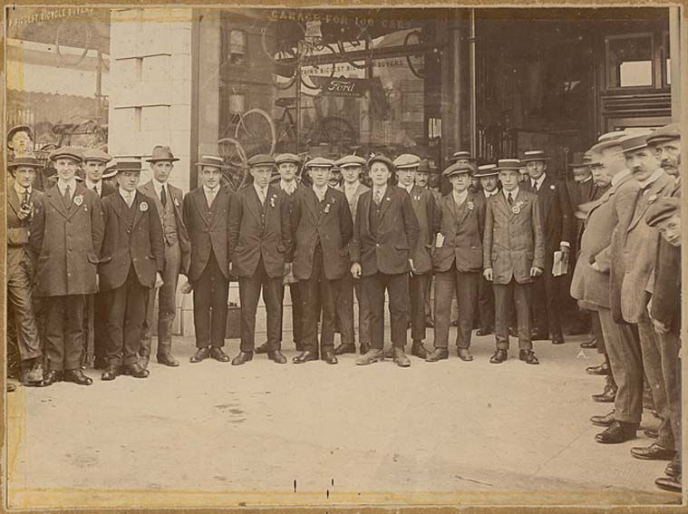 Staff of Tom Norton Ltd, c. 1910