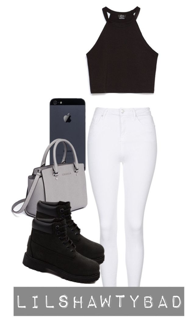 """""""Simple & Sexy"""" by lilshawtybad on Polyvore featuring MICHAEL Michael Kors, Topshop, Zara and Timberland"""