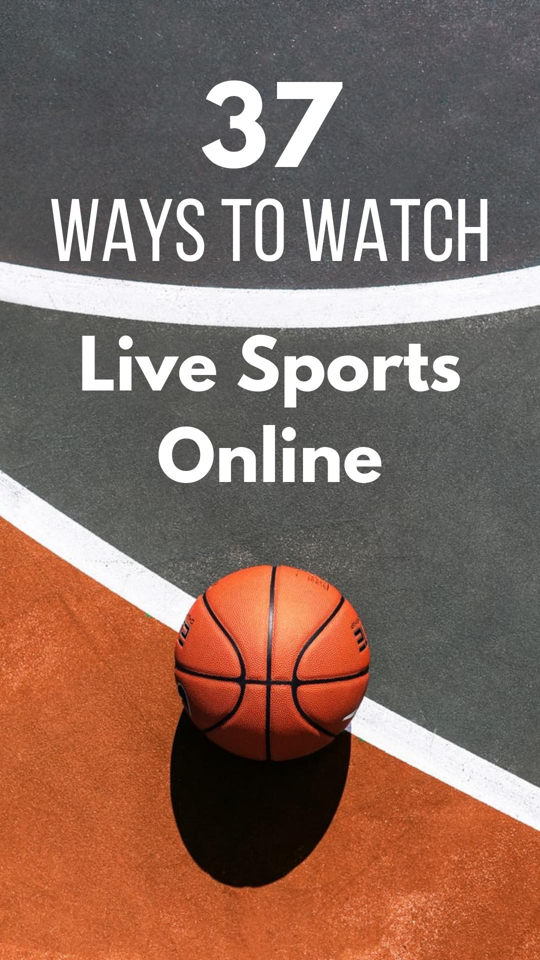 37 Ways to Watch Live Sports Online bradsdeals sports