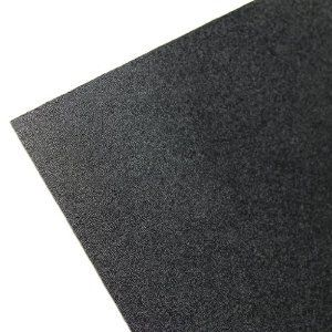 Abs Textured Plastic Sheet 1 16 Thick X 8 X 12 Black Pack Of 4 Color Is Black One Side Is Haircell Textured And The Other Si Kydex Sheet Plastic Sheets Kydex