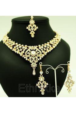 Parure bijoux indiens pas cher en plaqué or   mariage   Pinterest 37e4166d5bcf