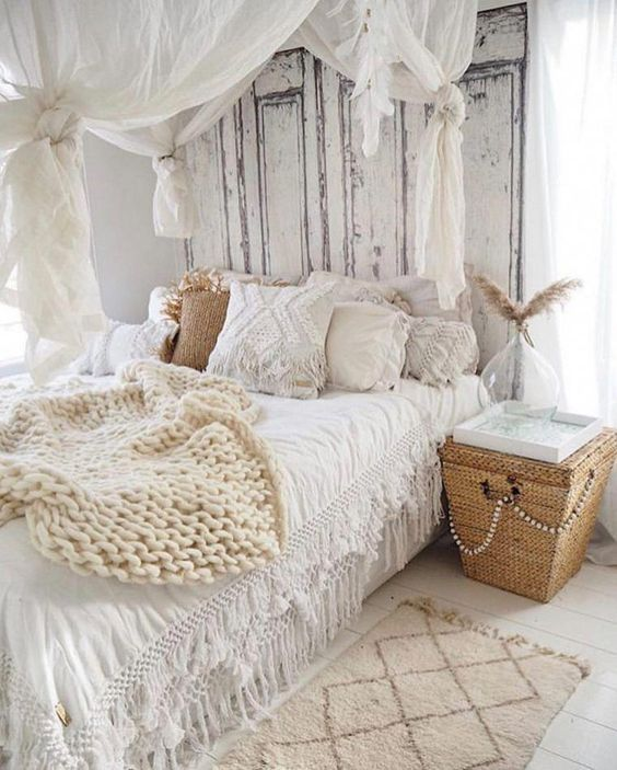 Photo of 25+ Chic Boho Bedroom Decor Ideas that Will Get you Excited about Decorating | momooze