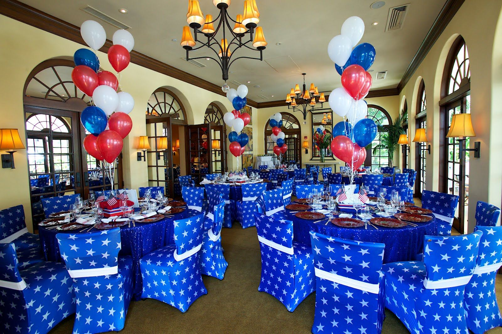 blue theme parties the planning company an election themed birthday