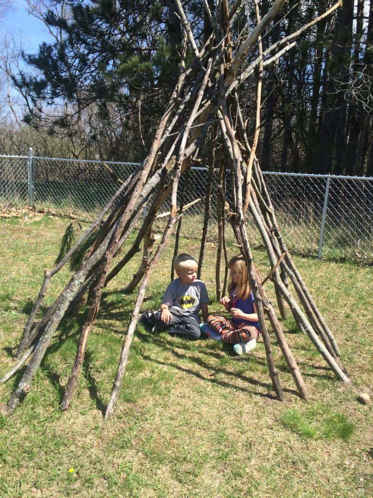 How to Make an Outdoor Teepee   Outdoor, Teepee, Backyard play
