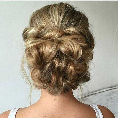Updo 35 Hairstyles For Wedding Guests
