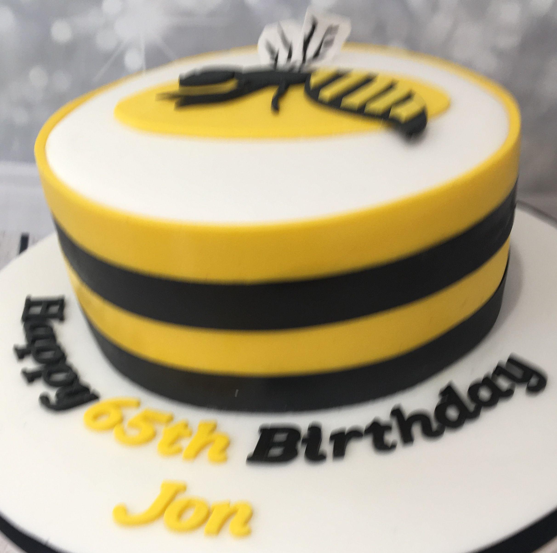 London Wasps Rugby Cake 2 Cake Rugby Cake No Bake Cake