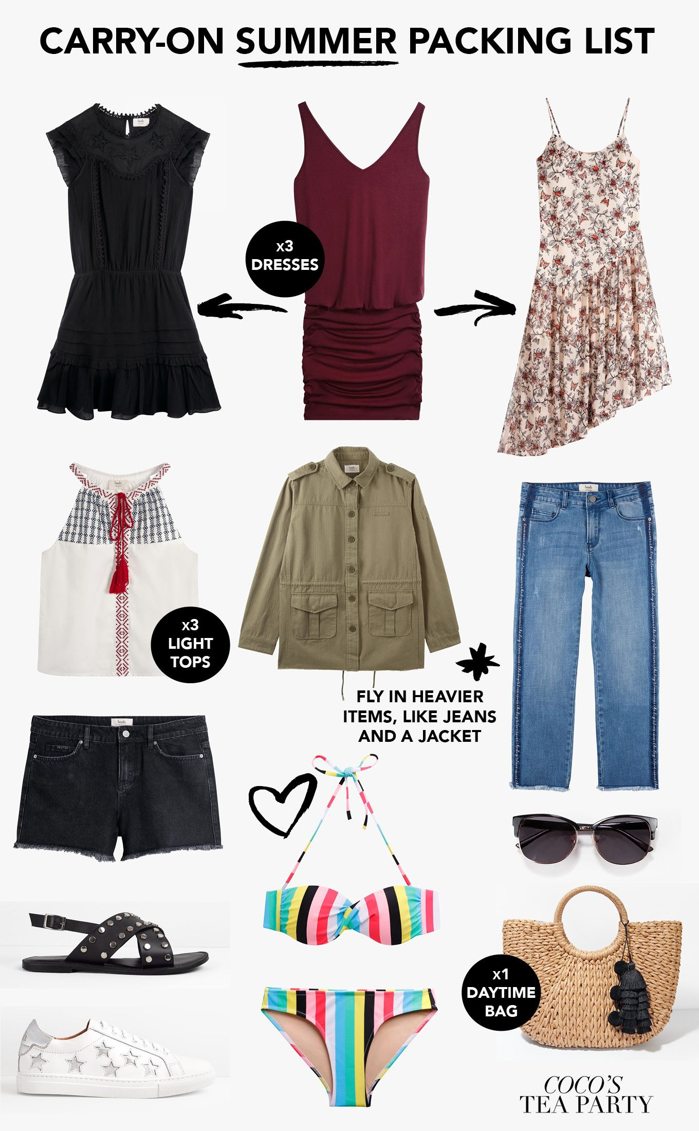 de38585e3f7 The Ultimate Summer Packing List from Hush