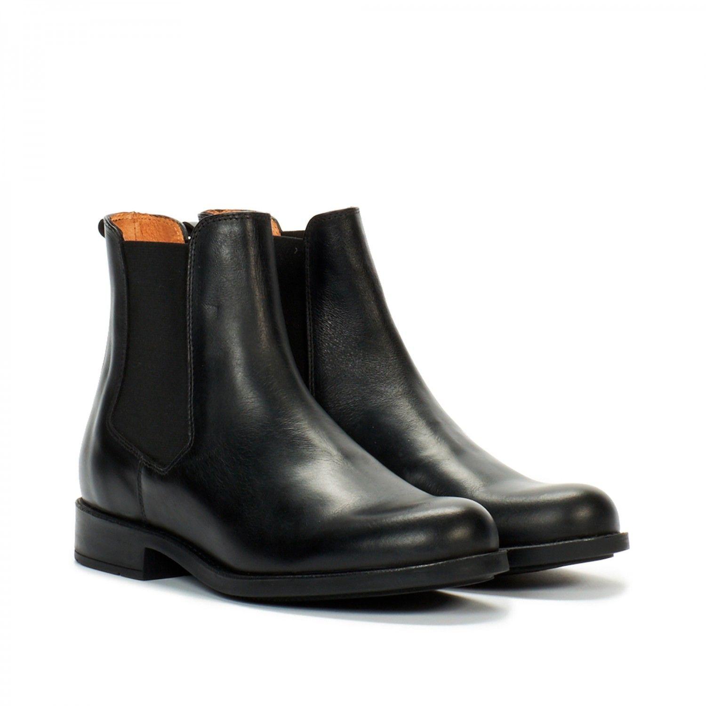 025daed1c0d bottines cuir femme noir orzac 2 femme - aigle 2