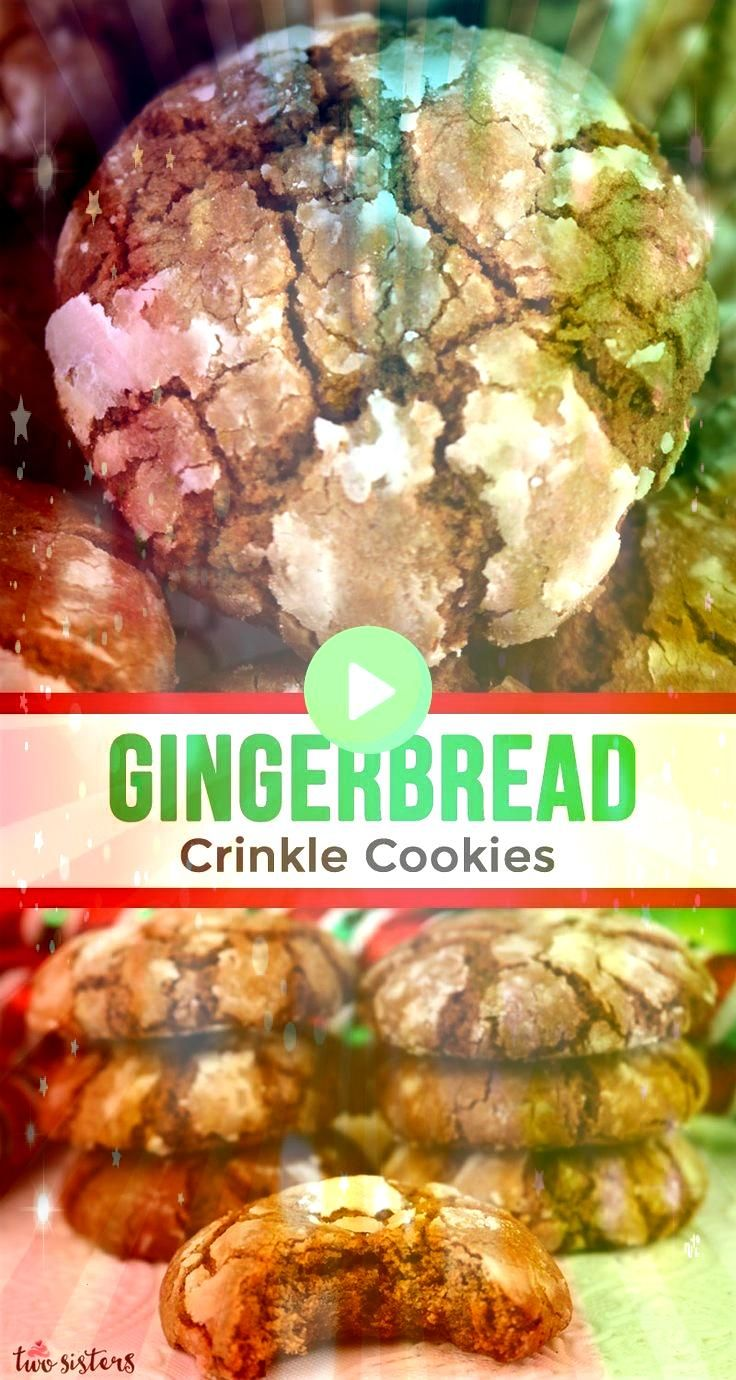 Crinkle Cookies  food and yums P Lebkuchen Crinkle Cookies  food and yums P  Classic monster cookies with oats chocolate chips peanut butter and mms Plus lots of ideas fo...