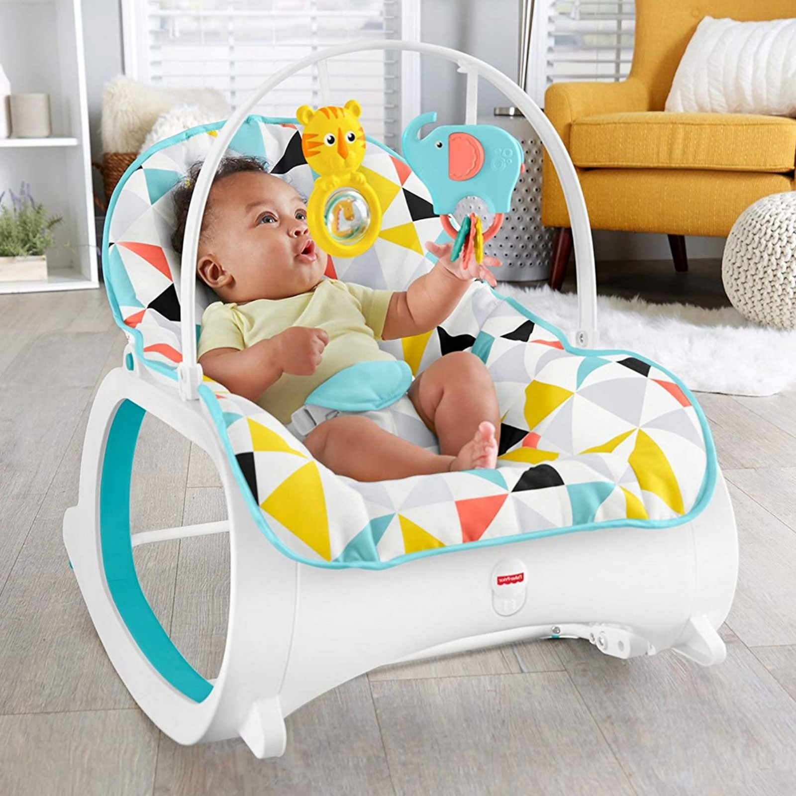 New Baby Bouncing Chair Newborn Infant Rocking Swing Seat Safety Bouncer