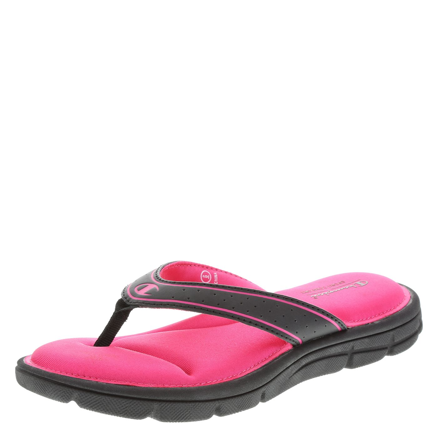f3640e7f1cffc payless.com Champion Women's Renew Comfort Flip Flop (Color - Pink ...