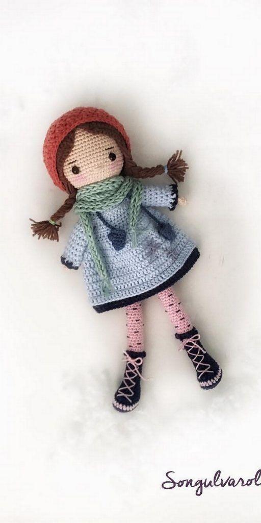 Free Amigurumi Dolls Crochet Patterns Com Imagens Bonecas De