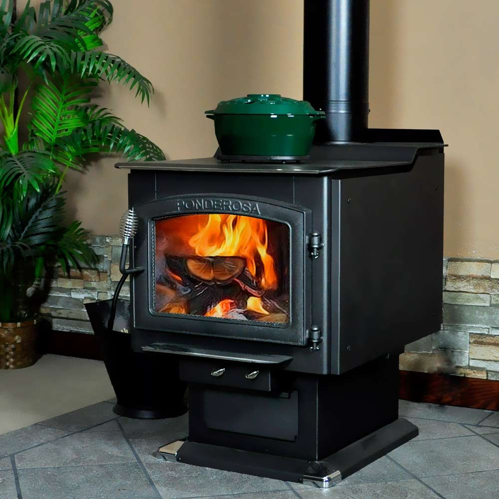 Vogelzang Ponderosa Wood Burning Stove With Blower Tr007 Wood Stove Reviews Stove Wood