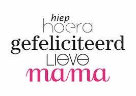 Gefeliciteerd Mama Verjaardag Mama Verjaardag Vrouw En