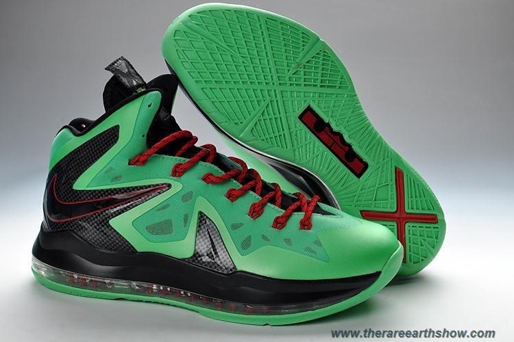 7742a2bac84c6 579827-287 Turquoise Volt Nike LeBron X PS Elite Outlet