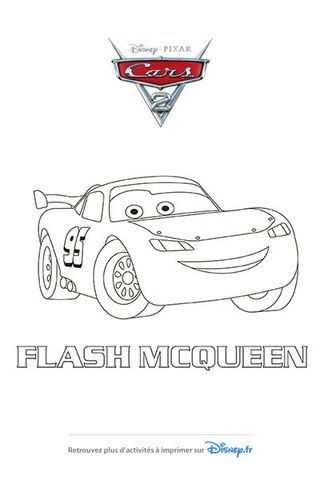 Coloriage flash mcqueen fait peau neuve coloriage - Coloriage martin cars ...