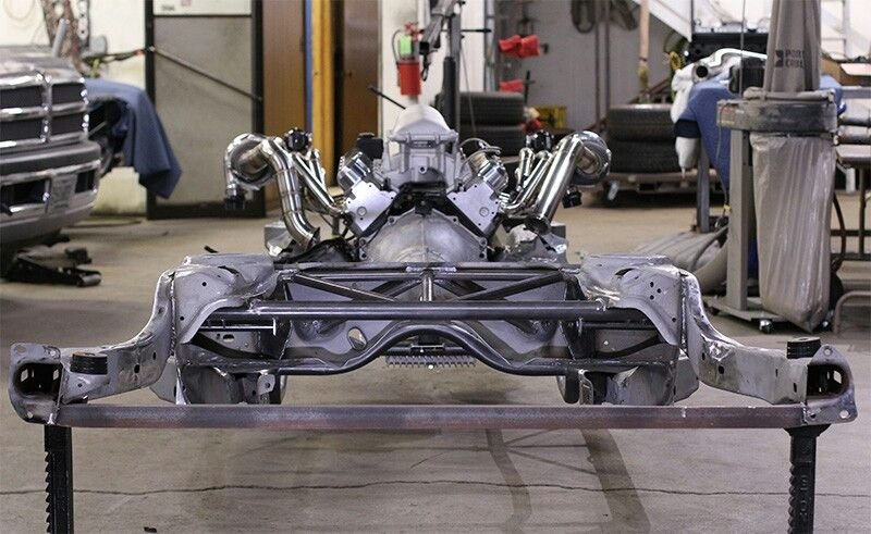 Trick chassis mods to GM G-body frame | Hot Rods & Trucks | Buick