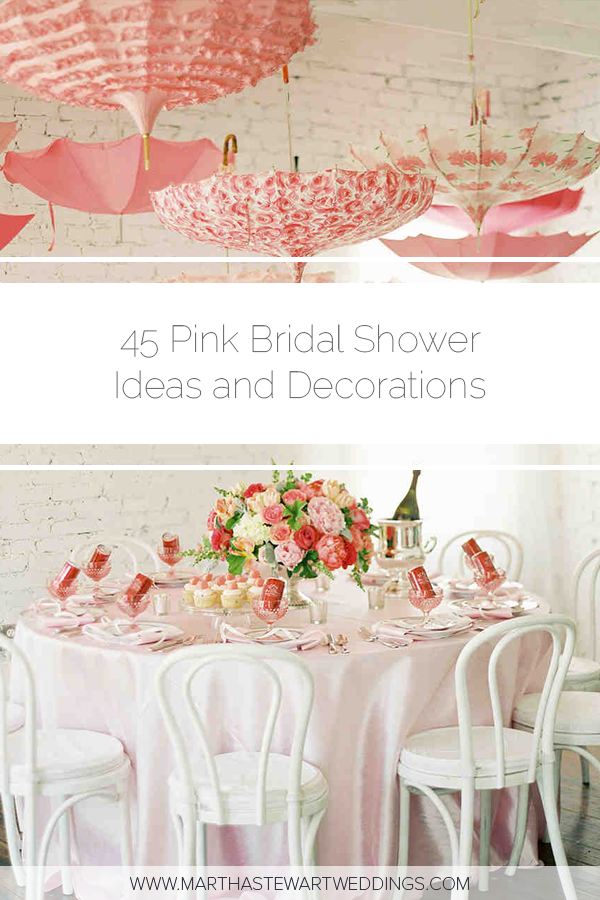 02768b2c115 45 Pink Bridal Shower Ideas and Decorations We Love  BridalShower   PinkBridalShower  BestBridalShowerIdeas  EngagementParty