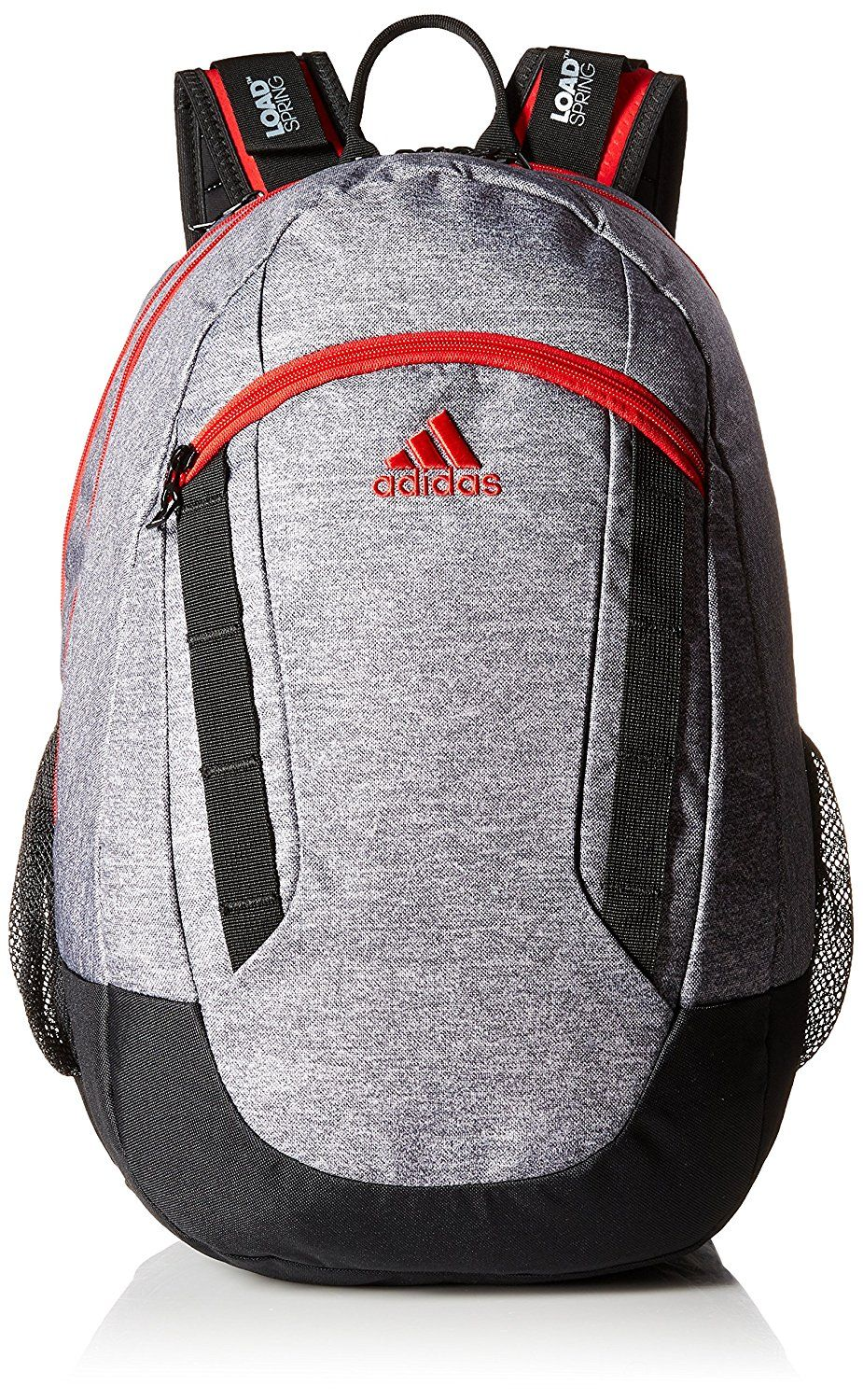 adidas Excel BackpackRoomy sport-inspired backpack with four zipper compartments and padded air mesh back for comfortLined 15.4 laptop/tablet sleeveTw