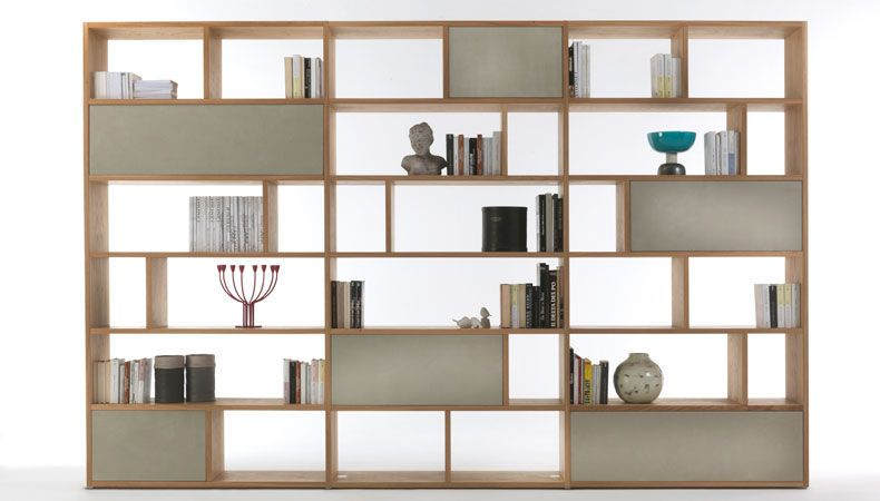 Password Bookself Riva 1920 Modern Designer Furniture