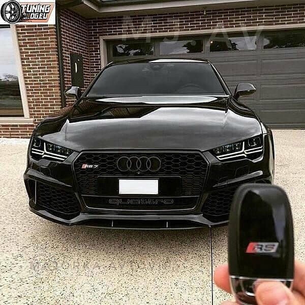Audi Rs7 Black / #audi #rs7 #audirs7 #dreams #dreamscars
