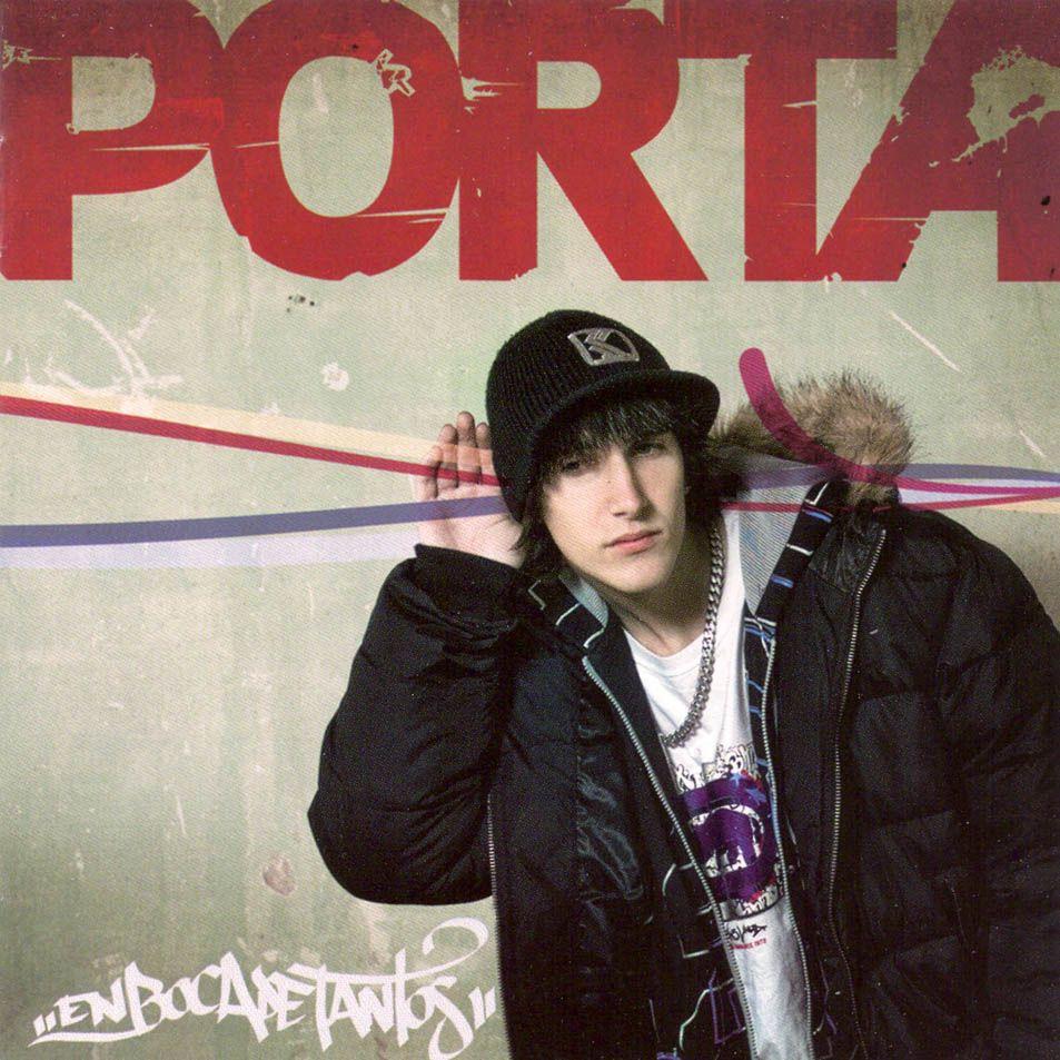 Caratula Frontal De Porta En Boca De Tantos Rap Como Un Huracan Rapero