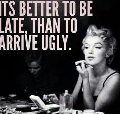 Haha yes.  Very true...  *Marilyn Monroe style*                                                                                                                                                                                 More