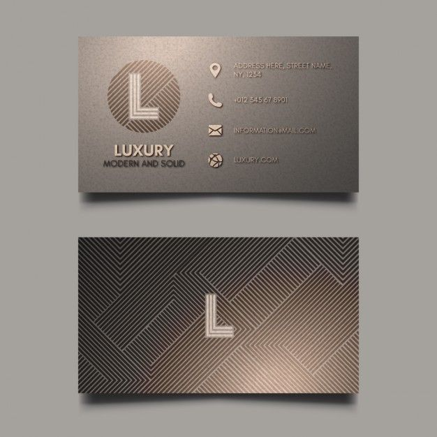 Download Luxury Corporate Card For Free Graphic Design Business Card Elegant Business Cards Design Business Card Logo Design