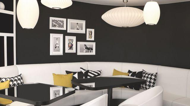 Hôtel Ekta Paris  une déco graphique en noir et blanc