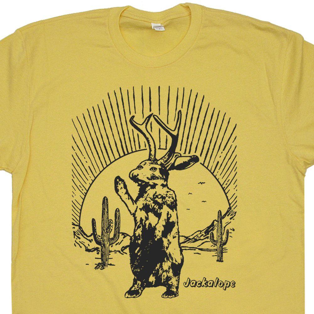 Shirt design vintage - Jackalope T Shirt Mythical Animal T Shirt Vintage T Shirts