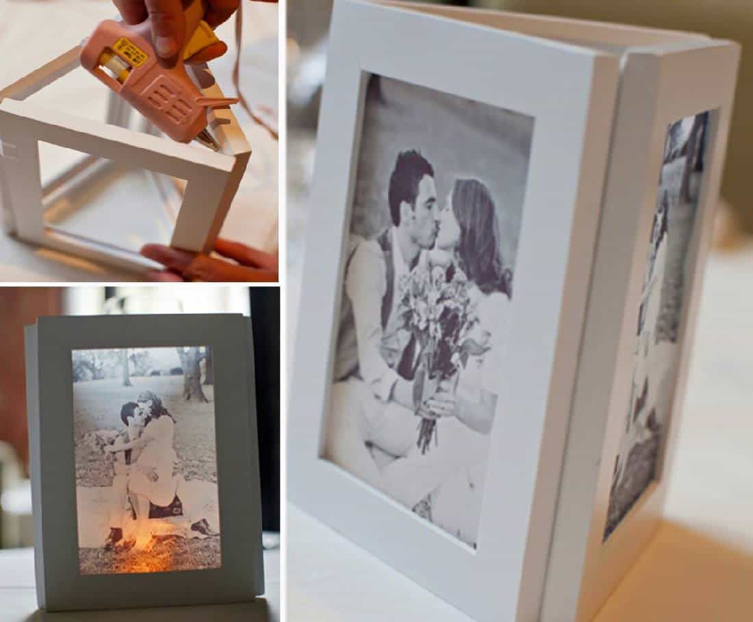 Picture Frame Luminaries DIY Video Tutorial | Craft