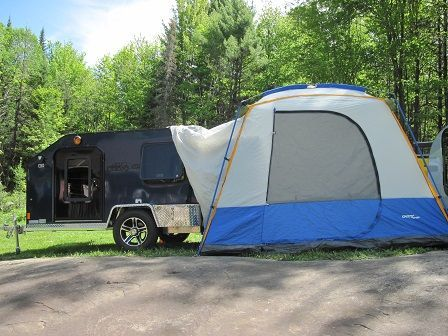 Add a rear mount tent to your Car-Go Lite Trailer and youu0027ll have lotu0027s of roomu2026 & Add a rear mount tent to your Car-Go Lite Trailer and youu0027ll have ...