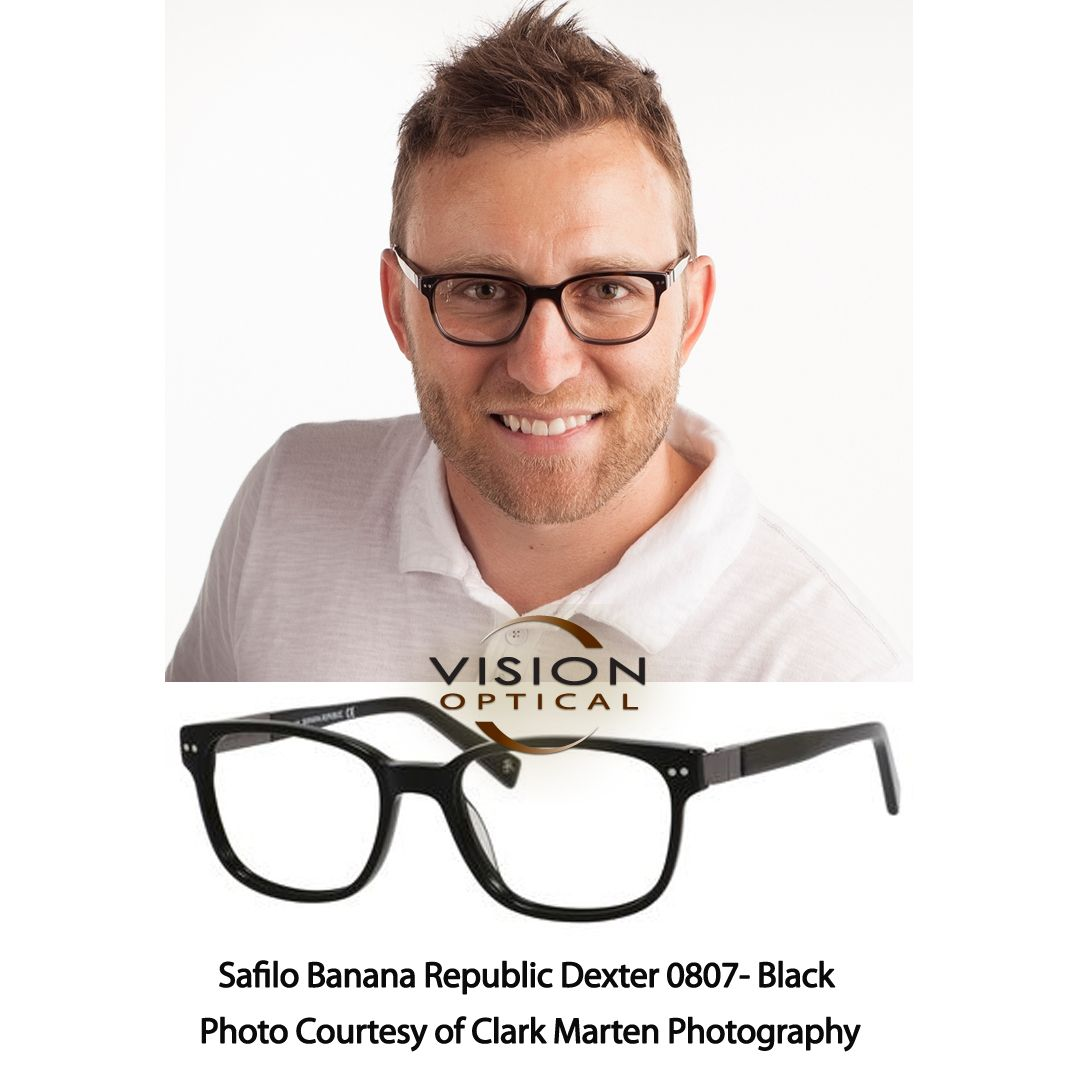 Safilo Banana Republic Dexter 0807-Black Photo Courtesy of Clark ...