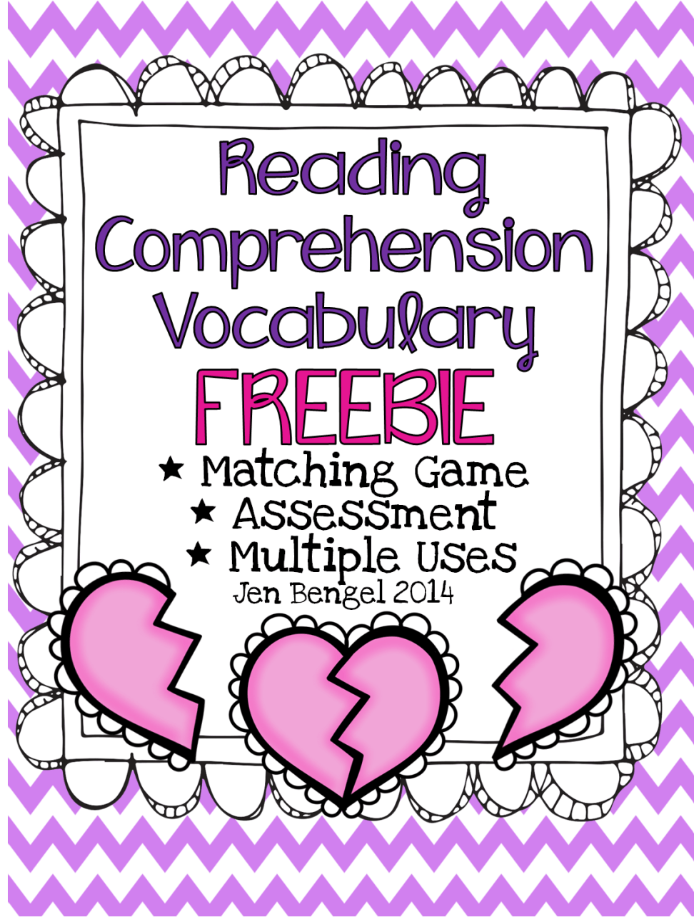 - FREEBIE} Valentine's Day Reading Comprehension Vocabulary And