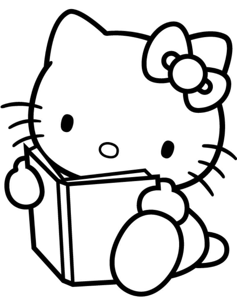 Disegni Per Bambini Di 3 Anni Hello Kitty Da Colorare Cake