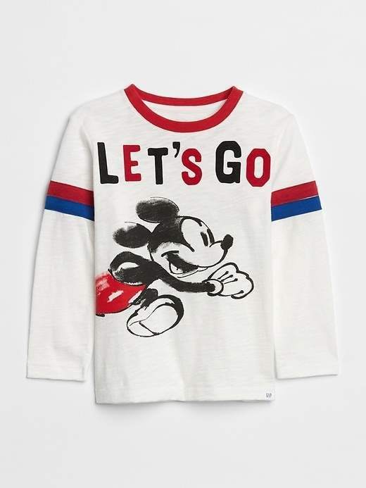 2976e5347 babyGap | Disney Mickey Mouse T-Shirt Available Colors: heather grey ,new  off white Available Sizes: Regular 12-18 M ,Regular 18-24 M ,Regular 2 Yrs  ...