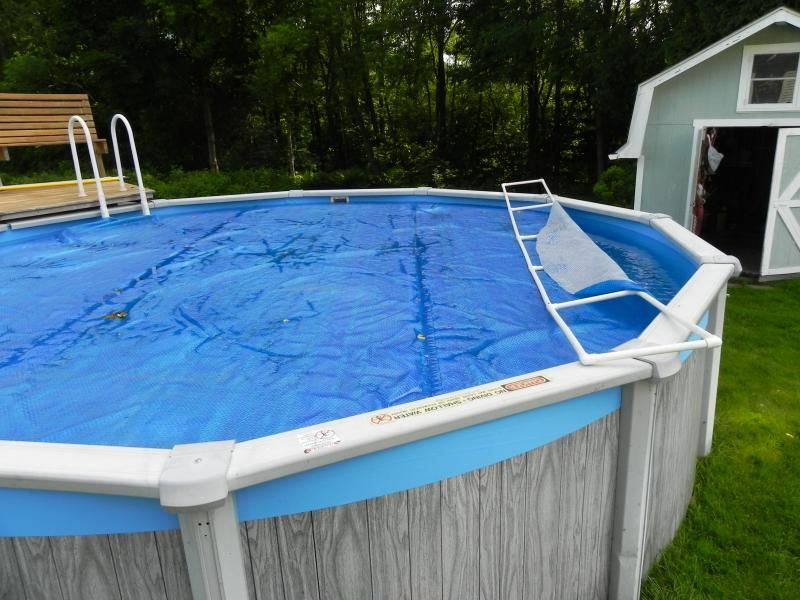 Solar cover reels innovations pool and patio for Above ground pool cover ideas
