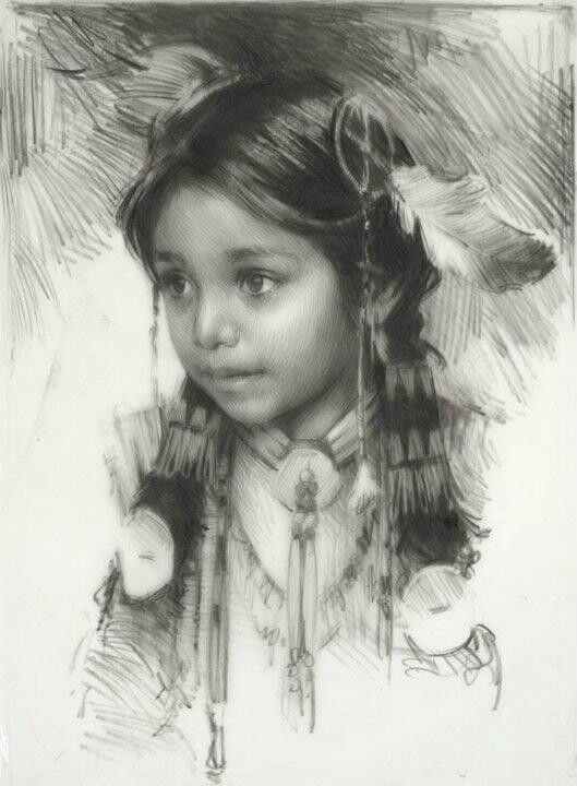 Pencil sketch by harley brown beautiful work