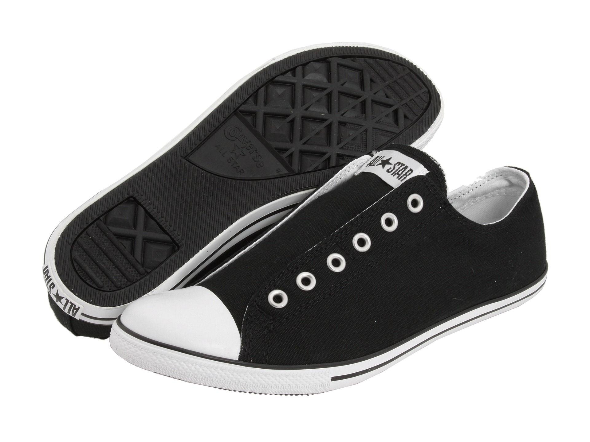 Converse All Star Slim Slip Black