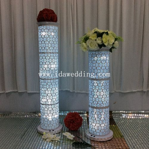 Diy columns wedding wedding tips and inspiration image result for how to make diy lighted wedding columns solutioingenieria Images
