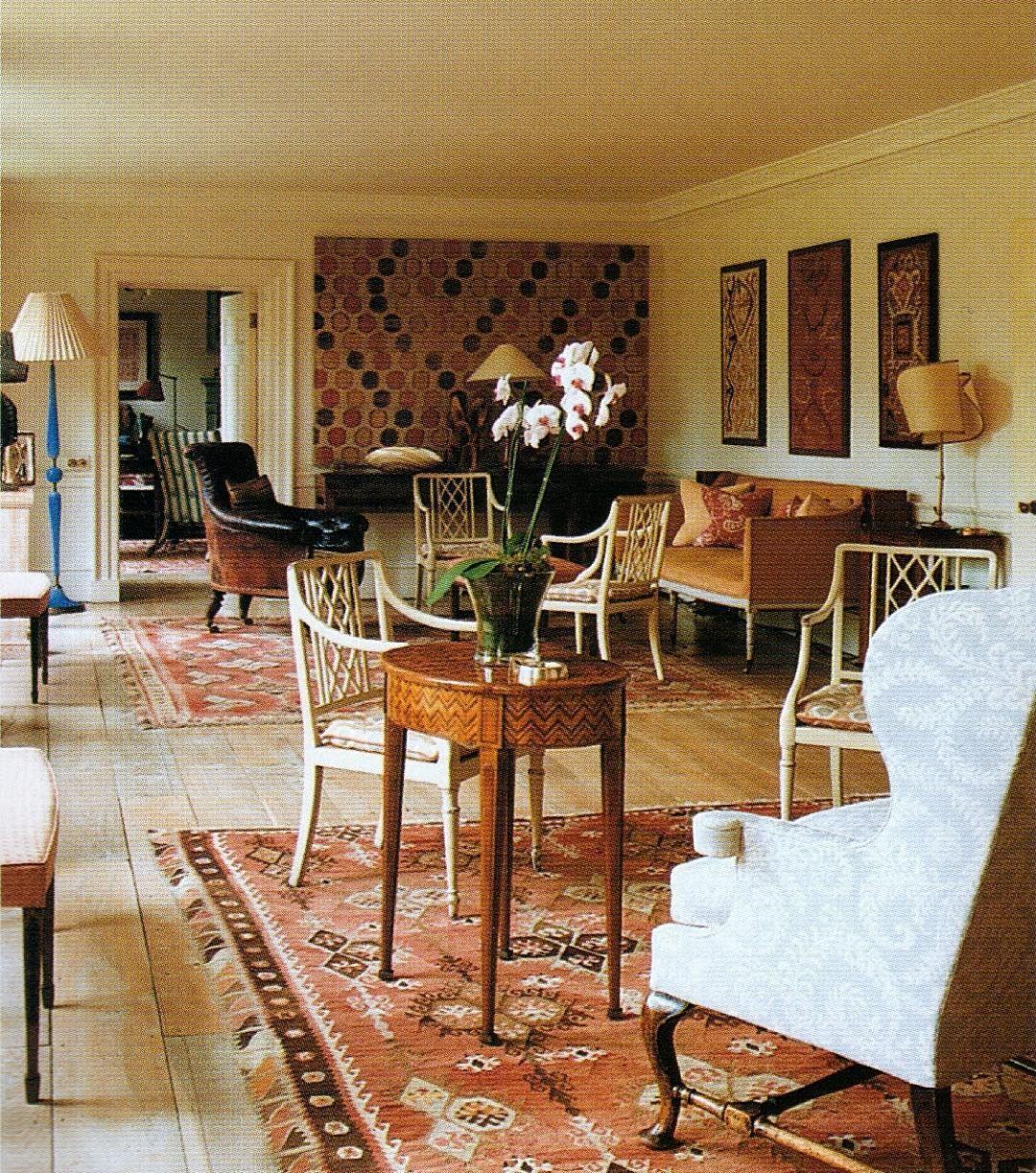 Randal Dawkins On Instagram The Long Room At Aubrey House Holland Park London Originally Named N Hygge Home Interiors Long Room English Interior Design