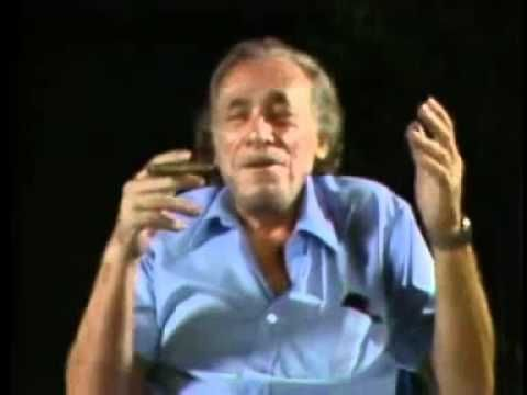 Charles Bukowski on 3 -day sleep cure for depression.  Feeling low, go back to bed until your juices are flowing again.  Too bad though that we all have to chase the dollar.