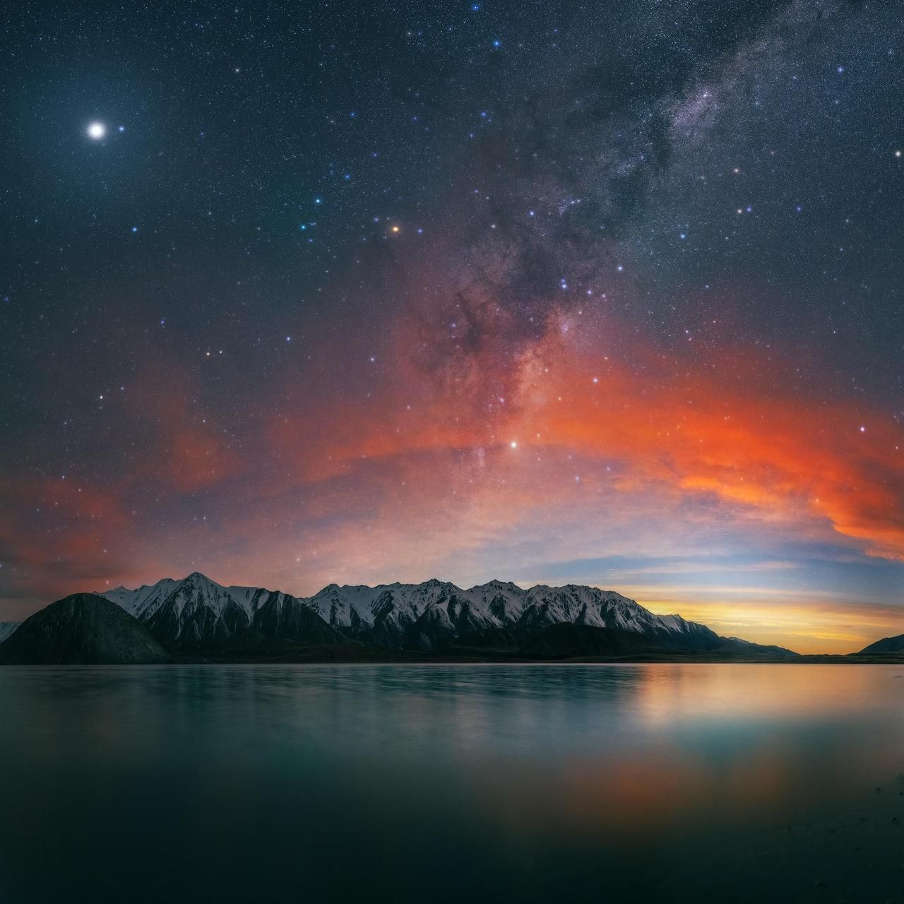 Moonrise Milky Way Sunset Come Together For Sunset Landscape Cool Places To Visit Nature Photography