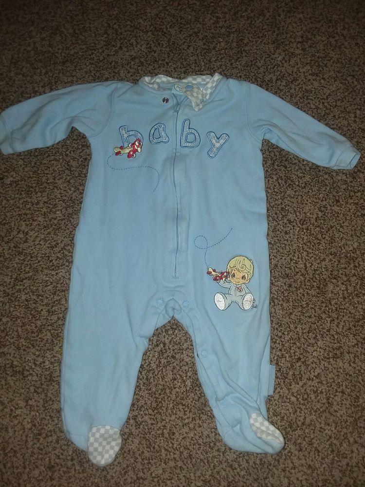 d842006a7c56 Precious Moments Baby Boy Pajamas. Size 6 9 Months  fashion ...