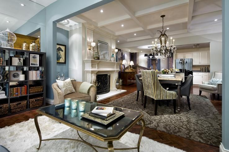 Candice tells all penthouse condo makeover exudes lofty style candice olson designs - Candice olson living room gallery designs ...